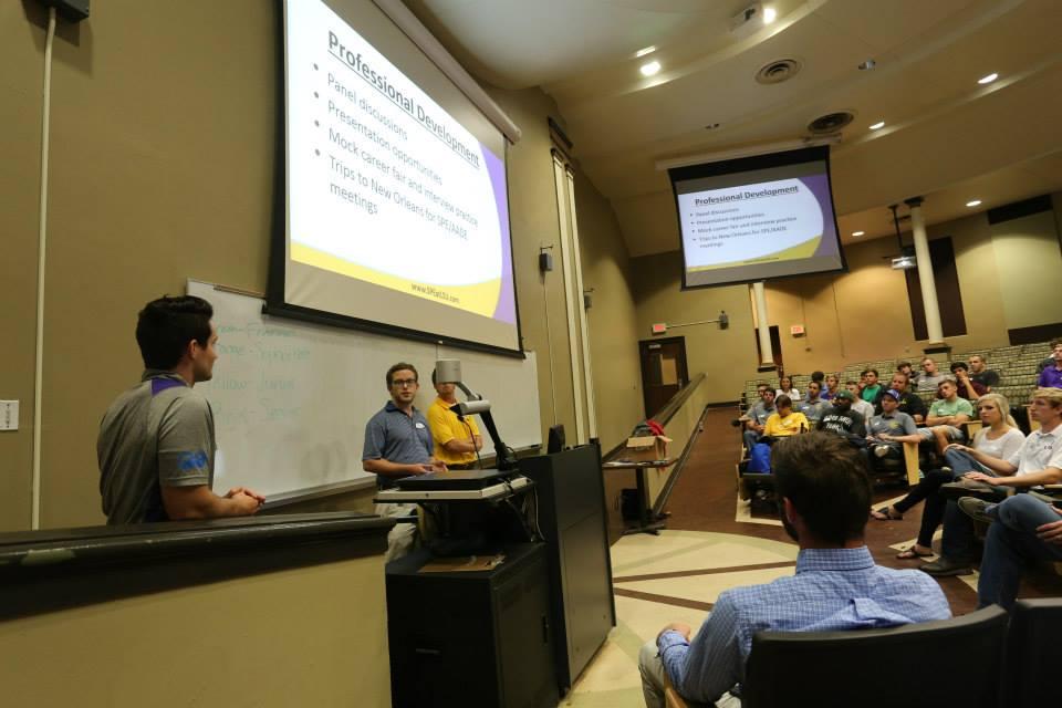 Chevron Mentor Program meeting