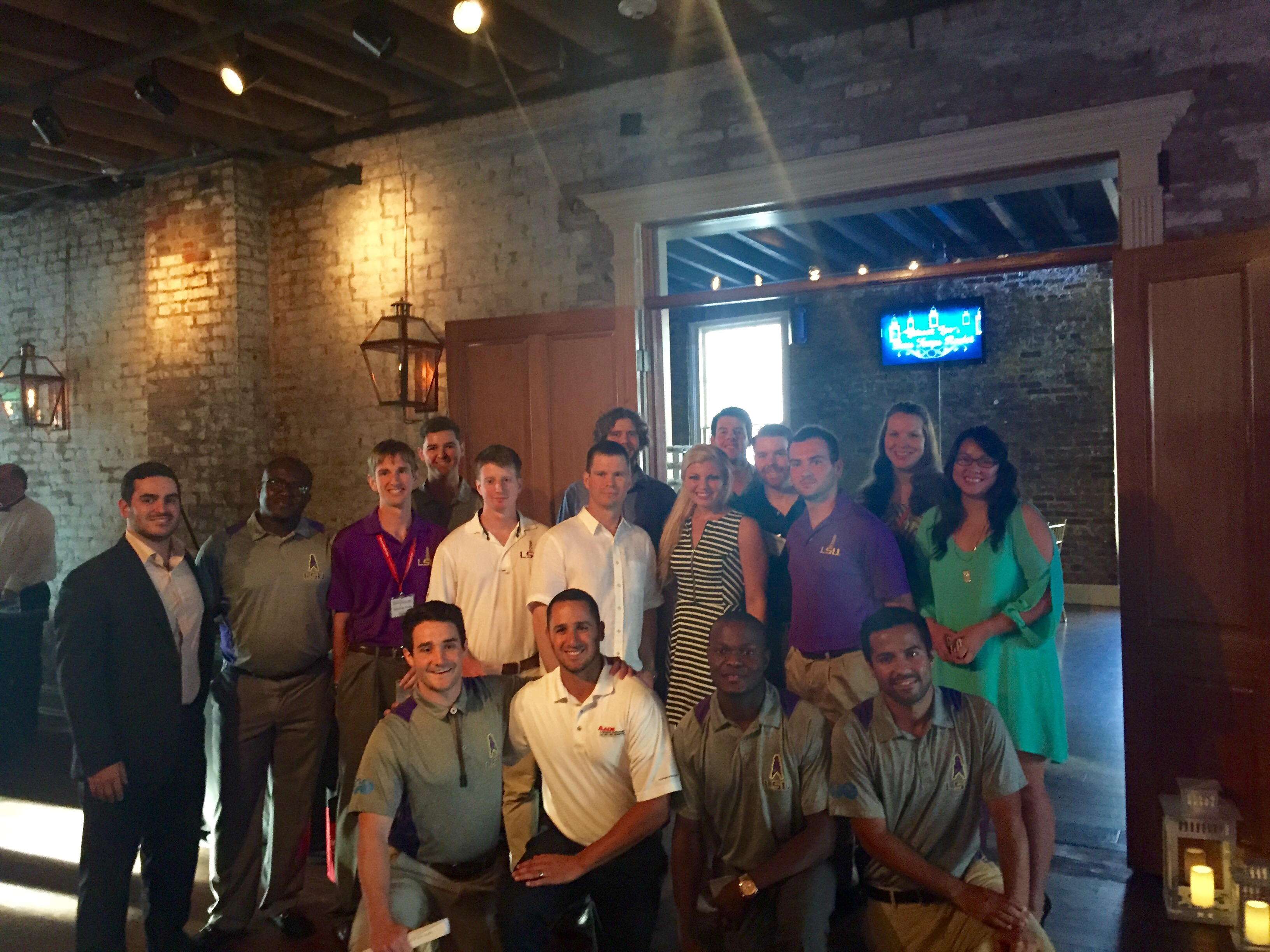LSU SPE students attend the 19th annual Deepwater Technical Symposium and volunteer at the Charity Gala