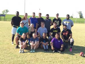 SPE Intramural Flag Football Team Fall 2015